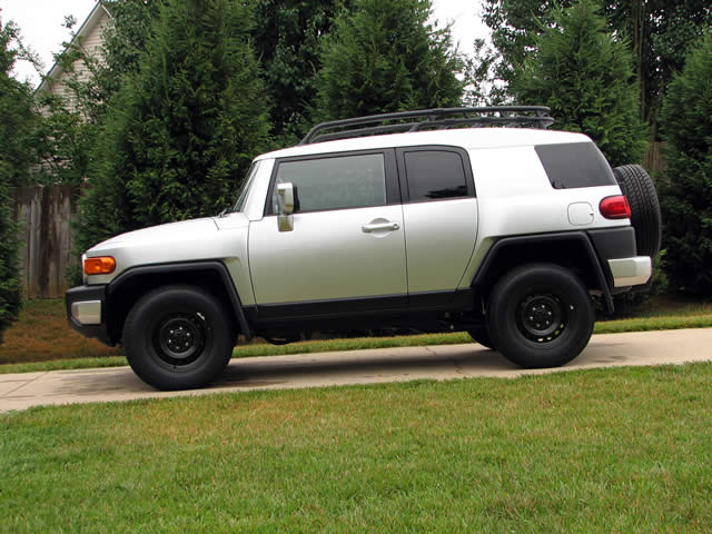Picture Bobbys Toyota Fj Cruiser Black Steelies