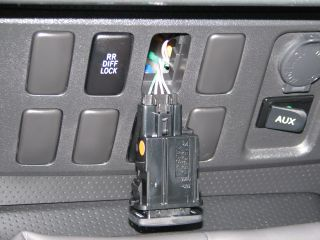 FJ Cruiser - A-TRAC Switch Install - Picture 4 - Small