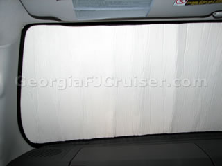 FJ Cruiser - Accessories - Intro-Tech Sunshade - Picture 3 - Small