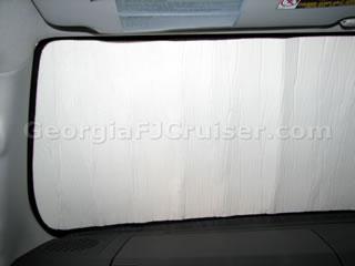 FJ Cruiser - Accessories - Intro-Tech Sunshade - Picture 3 - Small