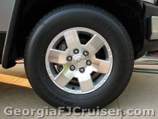 FJ Cruiser - Upgrades - Larger Tires - Picture 1 - Small