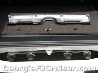 FJ Cruiser - 'Factory' Tow Hitch Installation -  Picture 11 - Small