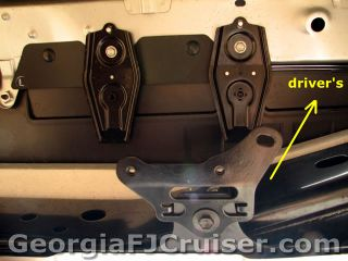 FJ Cruiser - 'Factory' Tow Hitch Install - Picture 15 - Small