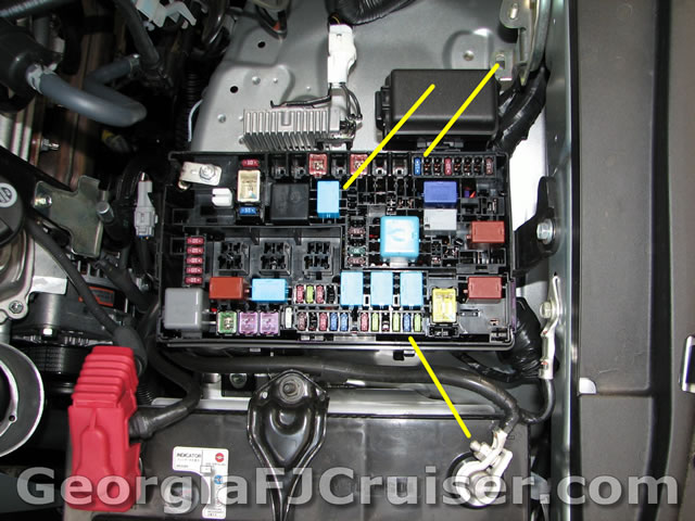 Fj Cruiser Fuse Box Wiring Diagrams Schematics