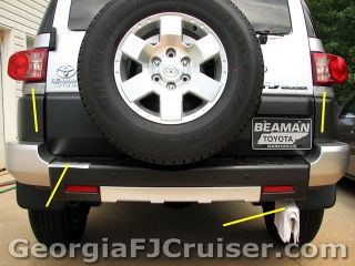 FJ Cruiser - 'Factory' Tow Hitch Install - Picture 1 - Small