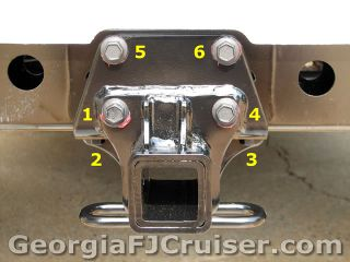 FJ Cruiser - 'Factory' Tow Hitch Installation -  Picture 7 - Small