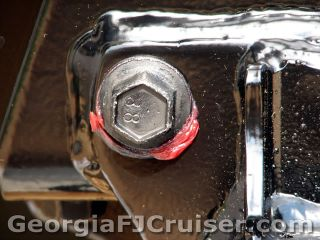 FJ Cruiser - 'Factory' Tow Hitch Installation -  Picture 8 - Small